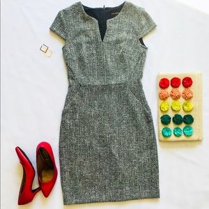 Banana Republic Gray sheath dress